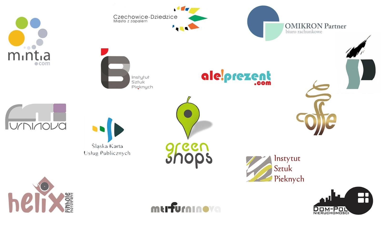 logogtypy logo na zamówienie projekty graficzne Katarzyna Urbaniak