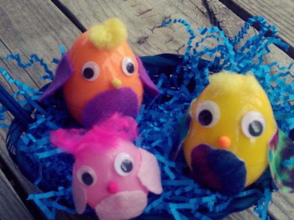 Huevos de Pajaritos { Manualidades }
