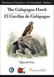 portada del libro EL GAVILÁN DE GALÁPAGOS, de Tundra Ediciones, ilustrado por Diego Ortega Alonso