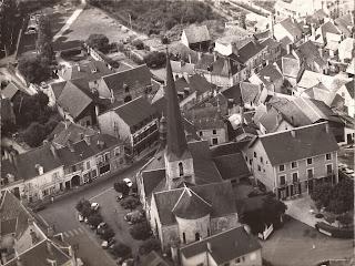 Église - Cour-Cheverny - Vue aérienne