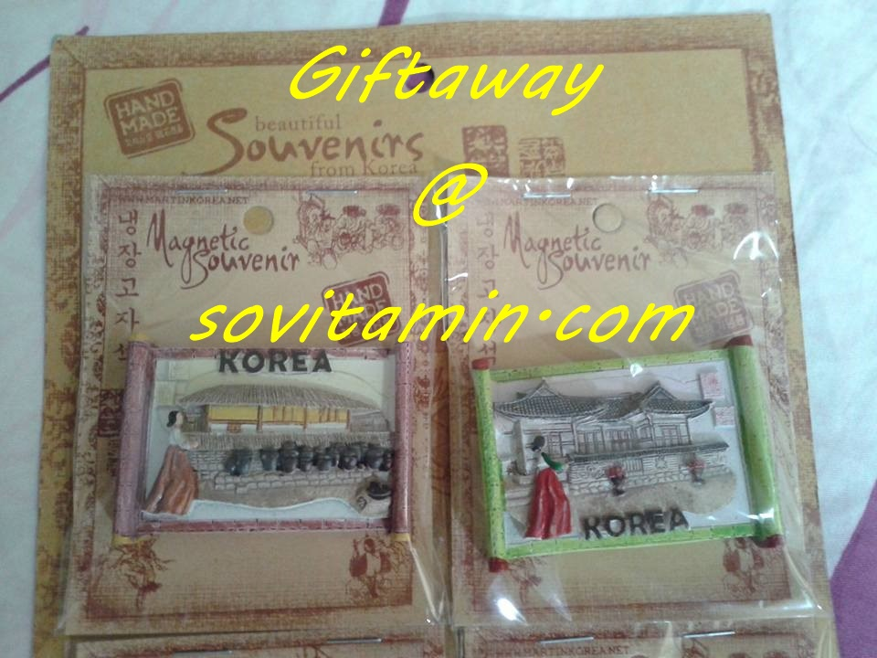 Giveaway 1.0 by sovitamin.com dan Travelkaja