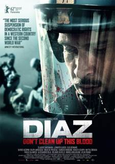 Diaz – Política e Violência BDRip Dual Áudio (Diaz: Don't Clean Up This Blood) (2012) Torrent