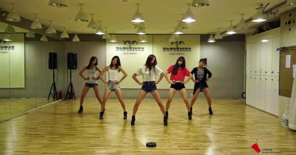 EXID release sexy dance practice video for 'Up & Down'