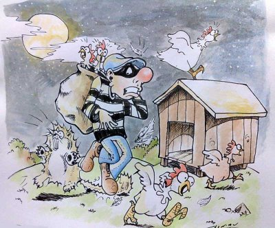 Causos de São José do Calçado: Os ladrões de galinhas desonestos