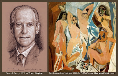 Glenn D. Lowry. Museum of Modern Art. MoMA. Pablo Picasso. by Travis Simpkins
