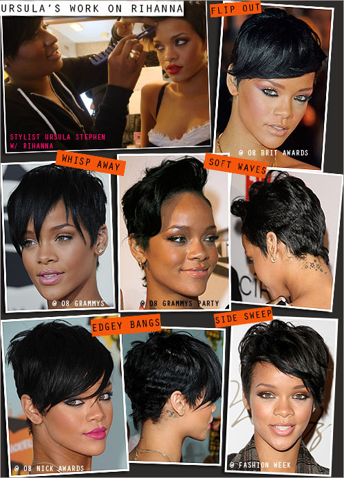 rihanna haircuts 2009. pictures of short hair cuts