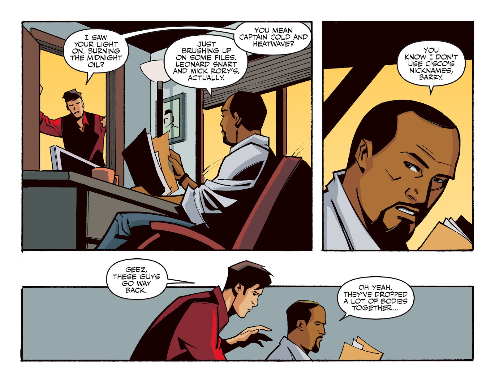 The Flash: Season Zero [I] Issue #21 #21 - English 4