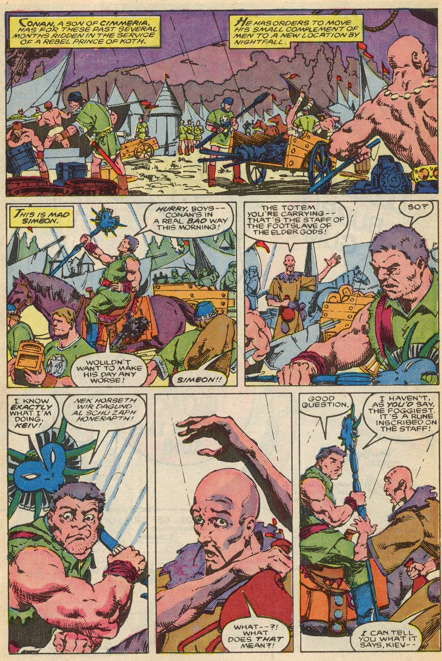 Conan the Barbarian (1970) Issue #195 #207 - English 8