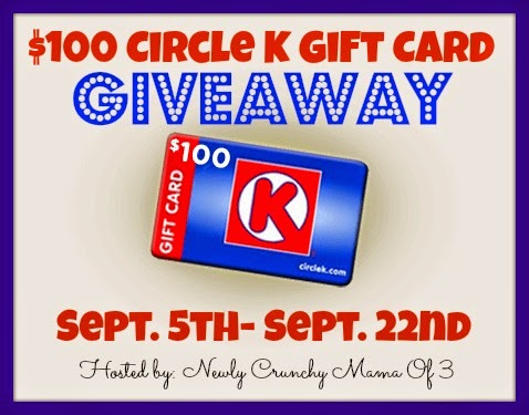 Enter the Circle K Gift Card Giveaway. Ends 9/22