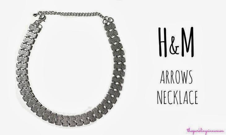 saldi H&M HM silver arrows necklace aztec necklace saldi invernali 2014