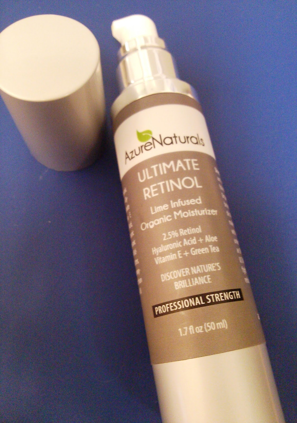 Ultimate Retinol Lime-Infused Organic Moisturizer Review