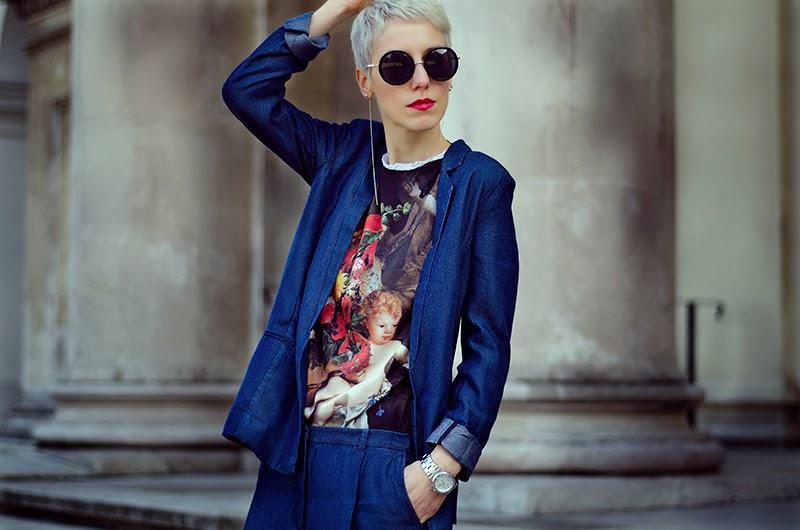 denim suit h&m trend sheinside beeswonderland