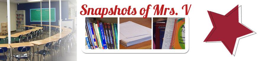 Snapshots of Mrs. V
