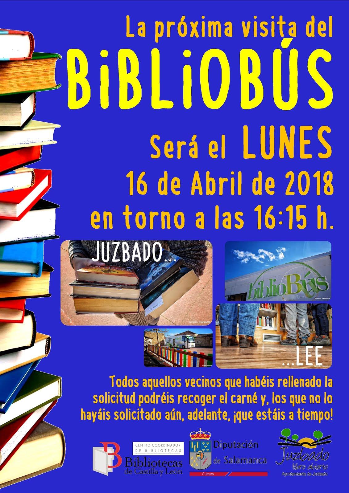 BIBLIOBÚS DE ABRIL