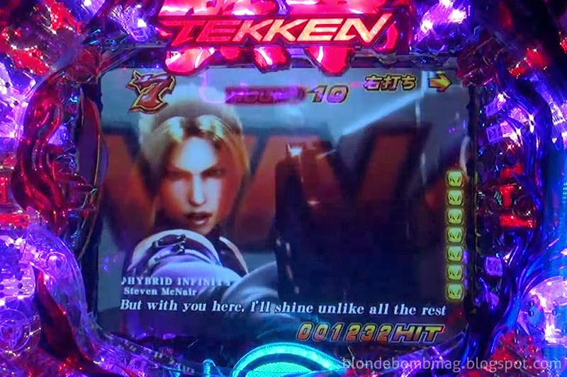 Tekken Pachinko Pachislot Movie CG