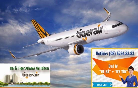 Đại lý Tiger Airways tại TPHCM
