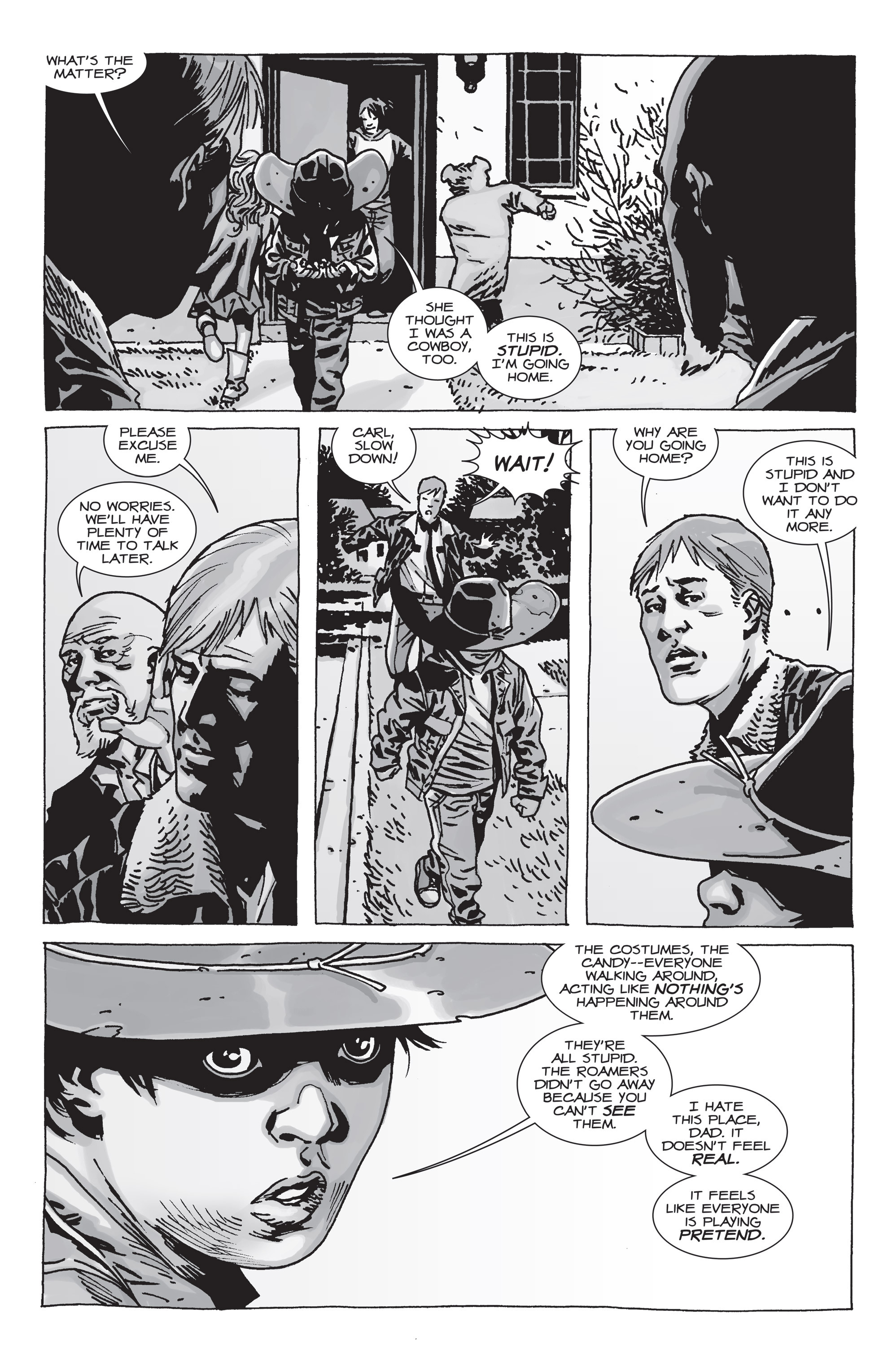 The Walking Dead Issue #71 Page 16