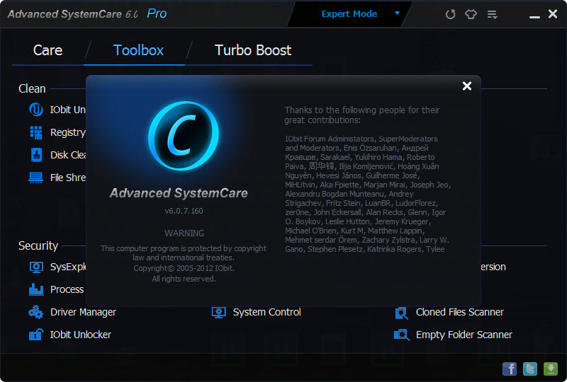 advanced systemcare pro free upgrade