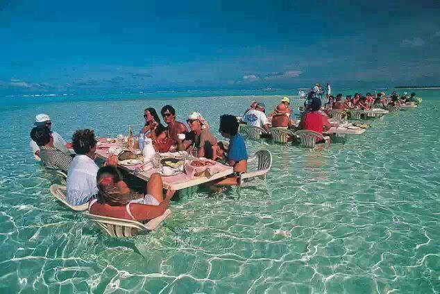 real Sea Restaurant at Bora-bora