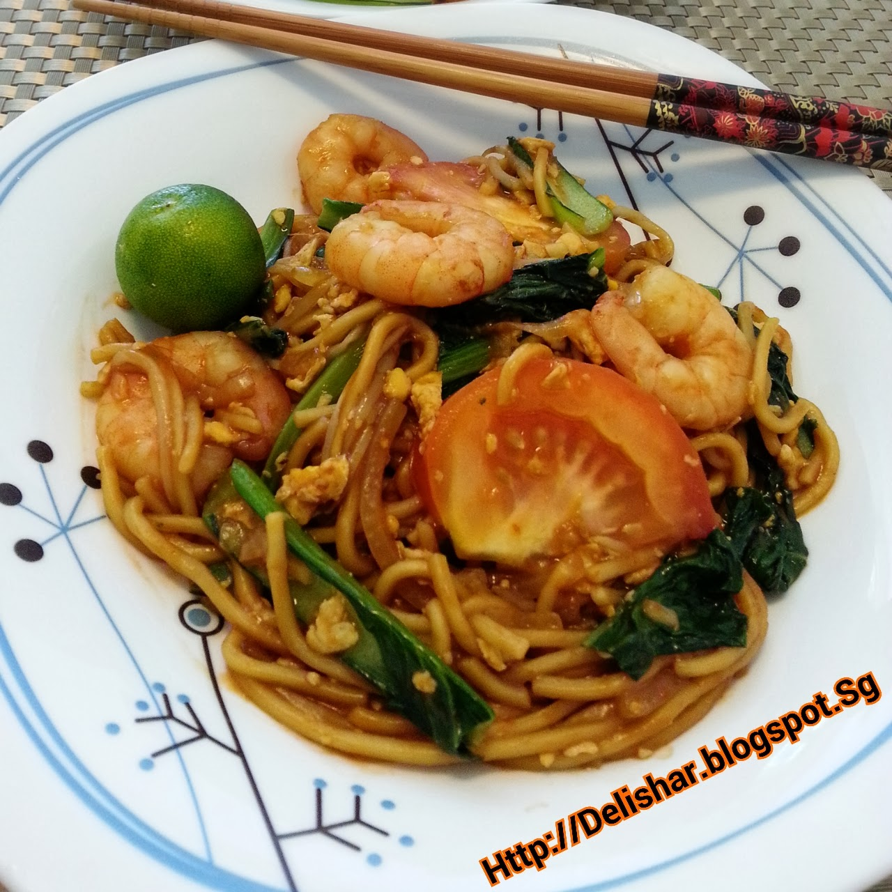 Culinary Kitchenette: Chinese Style Mee Goreng (Tze Char ...