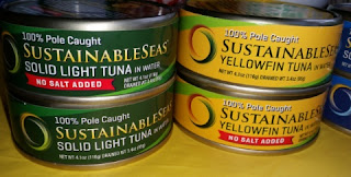 sustainable seas light and yellowfin tuna