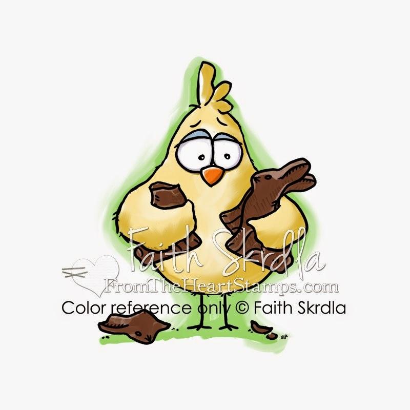 Chocolate Bunny Birdbrain
