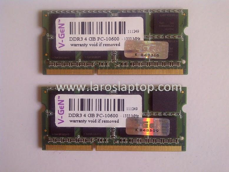Harga SODIM Laptop DDR3 4GB PC-10600