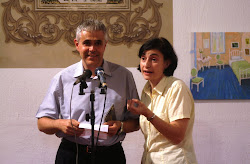 Guido Iotti i Carme Godall Han presentat a cal Conde