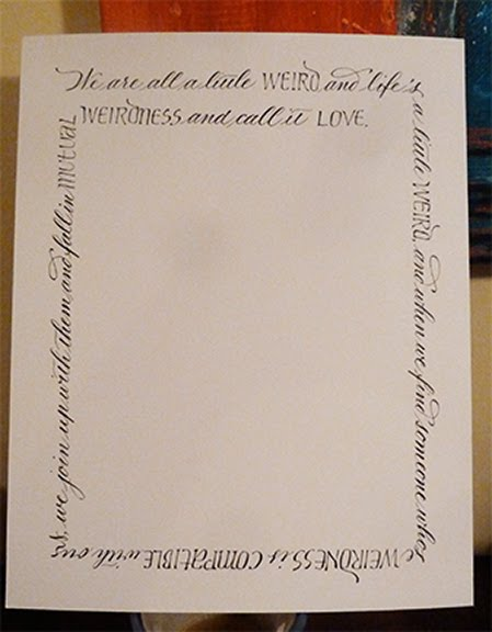Letterlady s letters calligraphy gifts