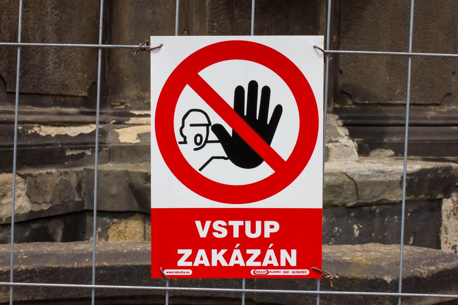 Прага, Чешская Республика, ложные друзья переводчика