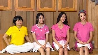 """Yura dan member Girls Day dalam acara KBS """"Happy Together"""""""