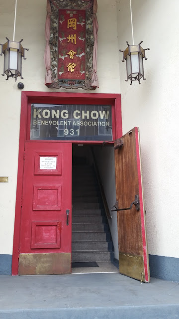 The oldest family association in Los Angeles Chinatown