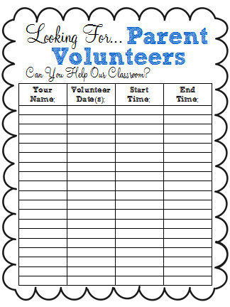 A class y collaboration back to school freebie parent for Back to school sign in sheet template