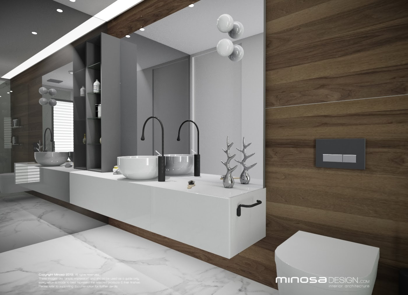 Minosa luxury bathroom design by minosa for 4 piece bathroom designs