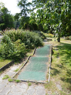 Mini Golf course in Bournemouth, Dorset