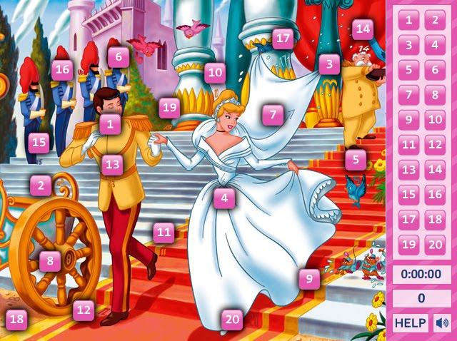 Cinderella Hidden Numbers 2