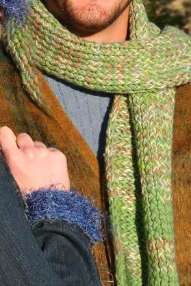 Knifty Knitter Scarf - Beginners