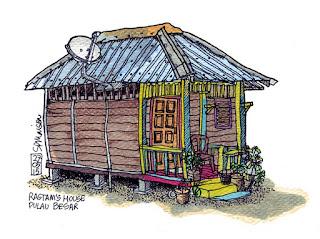 Rastam's house - Pulau Besar