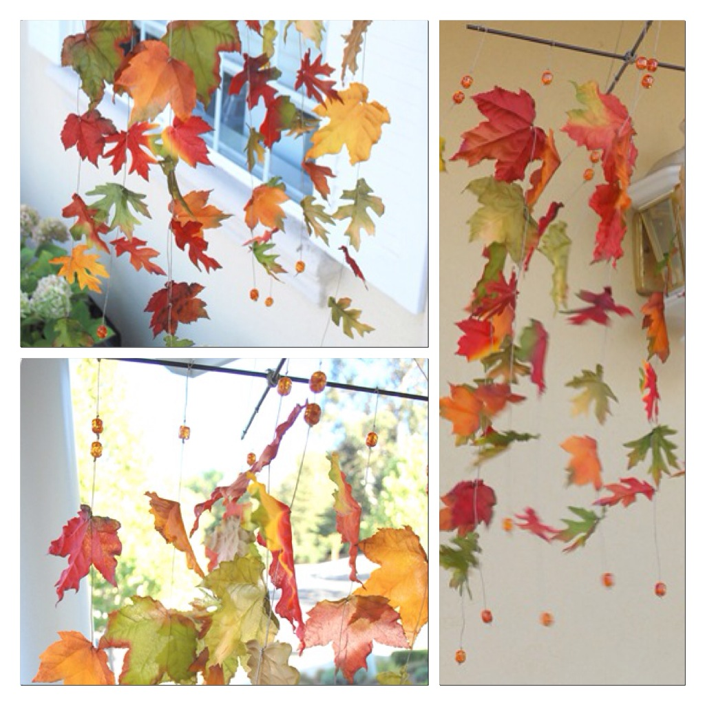 Maison doux autunno for Addobbi porta autunno