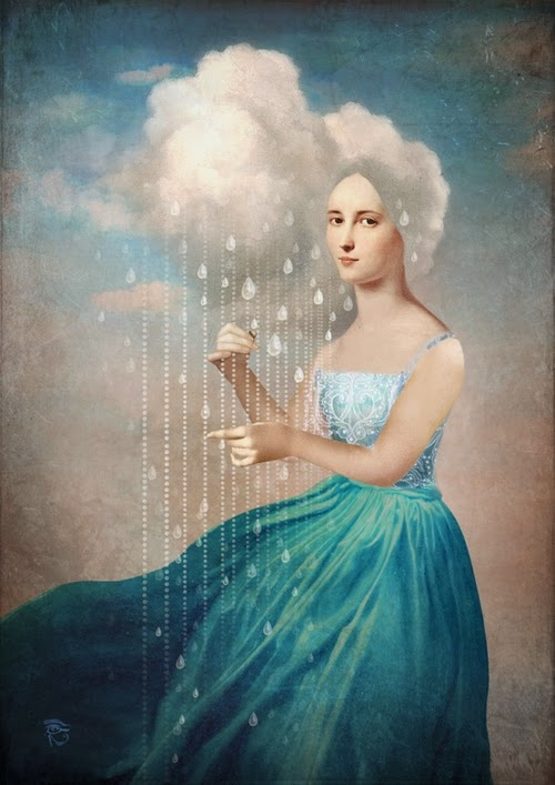 03-Melody-of-Rain-Christian-Schloevery-Surreal-Paintings-Balance-of-Mind-and-Heart-www-designstack-co