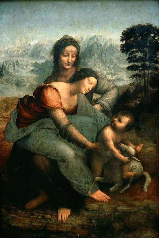 Leonardo (1452-1519) Nuestro artista favorito y co-presidente honorífico.