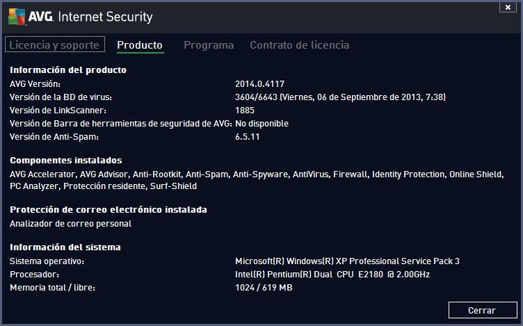 AVG Internet Security 20161217859 - Descargar