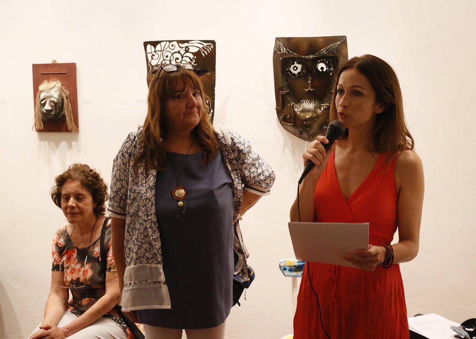 Lectura en Fragueiro 412, apertura Ciclo de Pinturas 2018 (Córdoba, 16/02/18)