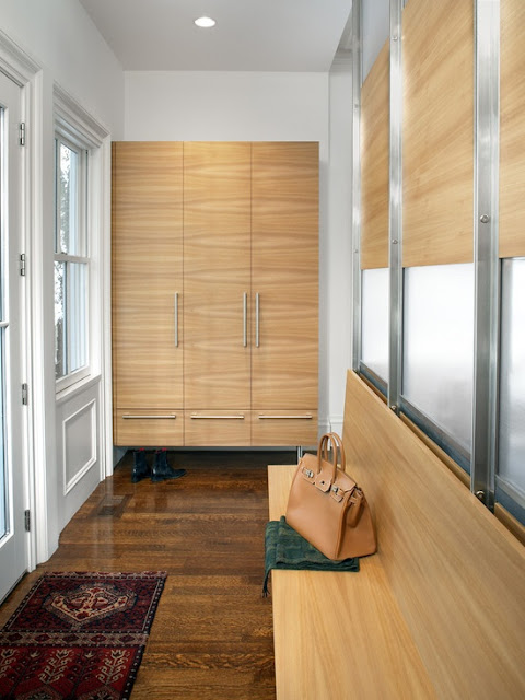 creating a mudroom in a small space