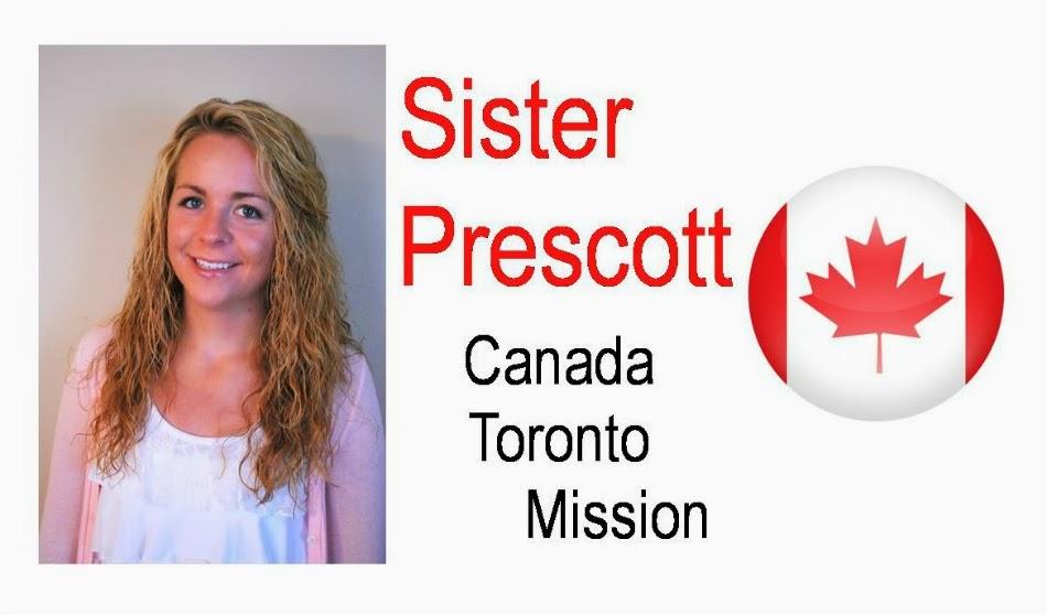 Sister Prescott's Mission - Canada Toronto