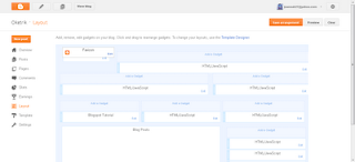 Tampilan Blogspot