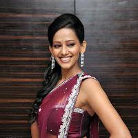 Sanjana latest saree photoshoot