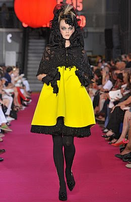 Christian Lacroix couture fashion show