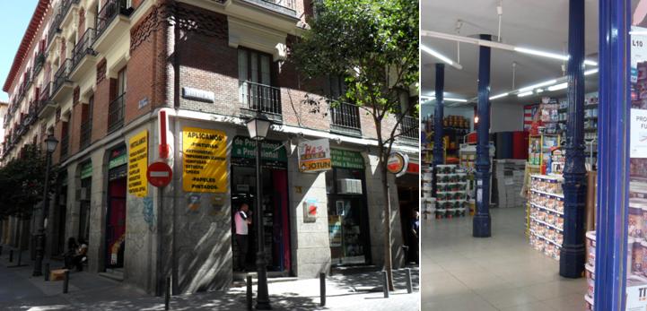 Antiguos caf s de madrid y otras cosas de la villa la for Calle loreto prado y enrique chicote 13