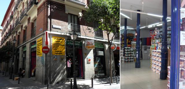 Antiguos caf s de madrid y otras cosas de la villa la for Calle prado 9 madrid